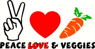 peaceloveveggies